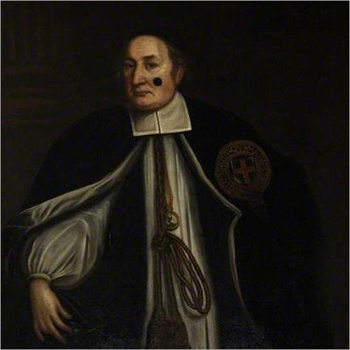 Art Conservation & Scholarships - Portrait of Bishop Mews